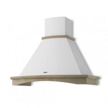 Vestavné spotřebiče - Faber TRENDY WH A90 s rámem  - rustikální odsavač, bílá, šířka 90cm