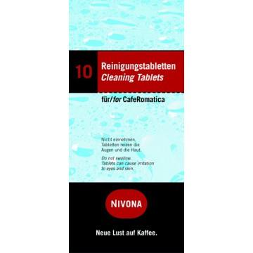 Příslušenství ke spotřebičům - Nivona NIRT 701 - čistící tablety do kávovaru - 10 ks