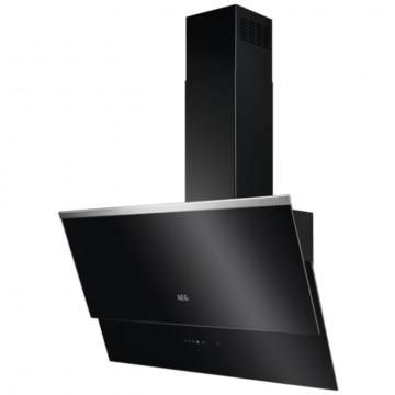 Vestavné spotřebiče - AEG Mastery DVB5860B nástěnný komínový odsavač, nerez/černá, 80 cm
