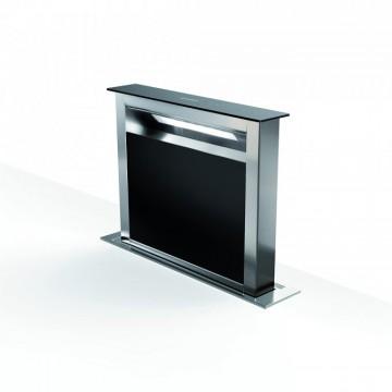 Vestavné spotřebiče - Faber FABULA PLUS EV8 BK A60  - odsavač výsuvný z pracovní desky, nerez / černé sklo, šířka 60cm