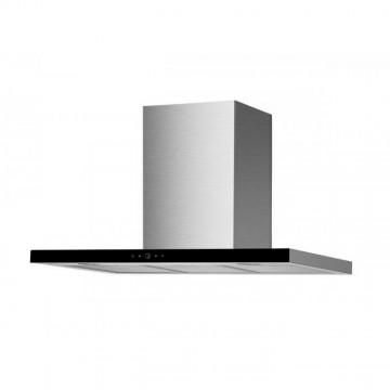 Vestavné spotřebiče - Faber TSPG GLASS X/BK A90  - komínový odsavač, nerez / černé sklo, šířka 90cm