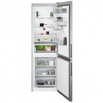 Volně stojící spotřebiče - AEG Mastery RCB632E4MX volně stojící kombinovaná chladnička, NoFrost, nerez, A++