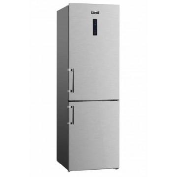 Volně stojící spotřebiče - Lord C6 volně stojící kombinovaná chladnička, NoFrost, nerez, 5 let záruka