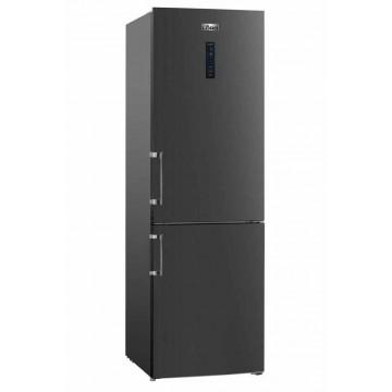 Volně stojící spotřebiče - Lord C5 volně stojící kombinovaná chladnička, NoFrost, černý nerez, 5 let záruka
