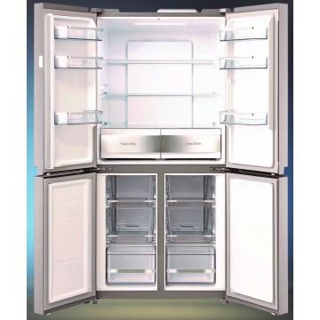 Volně stojící spotřebiče - Lord C12 americká lednice, NoFrost, nerez, 5 let záruka