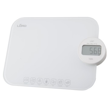 Malé domácí spotřebiče - Lord SK1 kuchyňská váha do 5kg, bílá, 5 let záruka
