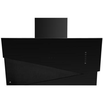 Vestavné spotřebiče - Ciarko Design CDP9001CC odsavač šikmý komínový Trio Black, 4 roky záruka po registraci