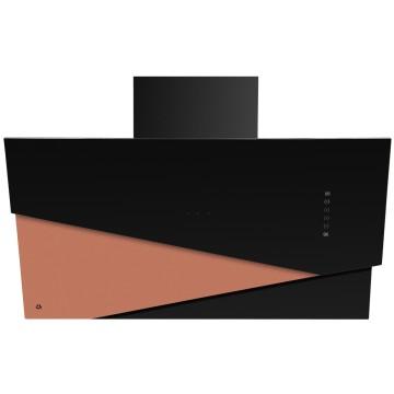Vestavné spotřebiče - Ciarko Design CDP9001CZ odsavač šikmý komínový Trio Copper, 4 roky záruka po registraci