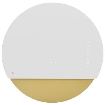 Vestavné spotřebiče - Ciarko Design CDP6001BZ odsavač šikmý komínový Eclipse White Gold, 4 roky záruka po registraci