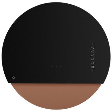 Vestavné spotřebiče - Ciarko Design CDP6001CR odsavač šikmý komínový Eclipse Black Copper, 4 roky záruka po registraci