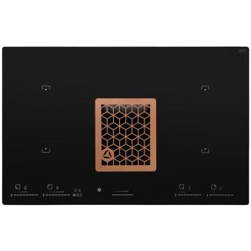 Vestavné spotřebiče - Ciarko Design CDB8001CR indukční deska s integrovaným odsavačem Wizard Copper, 4 roky záruka po registraci