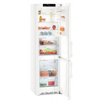Volně stojící spotřebiče - Liebherr CBN 4835 BluPerformance, kombinovaná chladnička, BioFresh, NoFrost, bílá,  A+++ - 5 let záruka