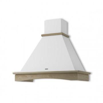 Vestavné spotřebiče - Faber RANCH WH A90 s rámem  - rustikální odsavač, bílá, šířka 90cm