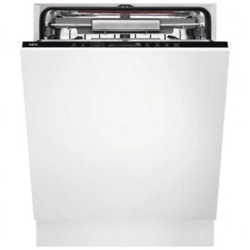 Vestavné spotřebiče - AEG Mastery FSK83727P vestavná myčka nádobí s příborovou zásuvkou, vnitřní osvětlení, 60 cm, A+++