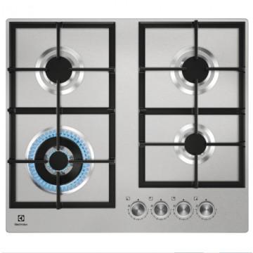 Vestavné spotřebiče - Electrolux KGU64361X varná deska plynová, nerez, 60 cm