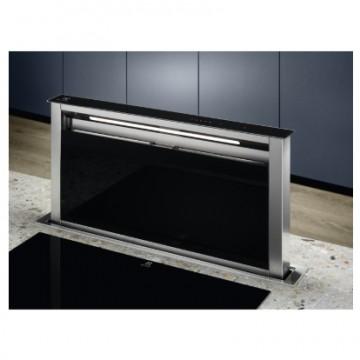 Vestavné spotřebiče - Electrolux LFD619Y odsavač výsuvný z pracovní desky, nerez/černé sklo, šířka 90cm