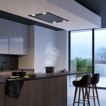 Vestavné spotřebiče - Falmec STELLA DESIGN Ceiling, stropní odsavač, nerez, 90 cm, Slim motor 800 m3/h