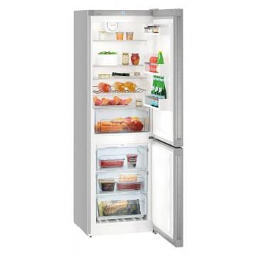 Volně stojící spotřebiče - Liebherr CNef 4313 kombinovaná lednice, NoFrost, nerez, A++ - 5 let záruka