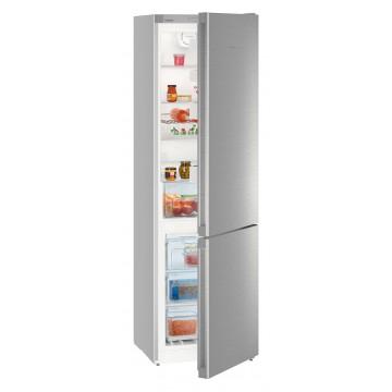 Volně stojící spotřebiče - Liebherr CNef 4813 kombinovaná lednice, NoFrost, nerez, A++ - 5 let záruka
