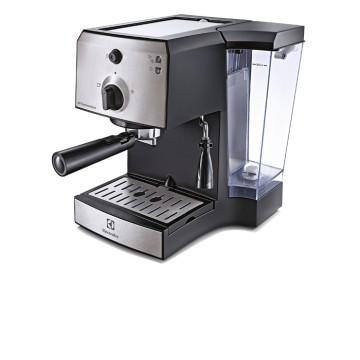 Malé domácí spotřebiče - Electrolux EEA111 pákový kávovar Easy Espresso, nerez/černá