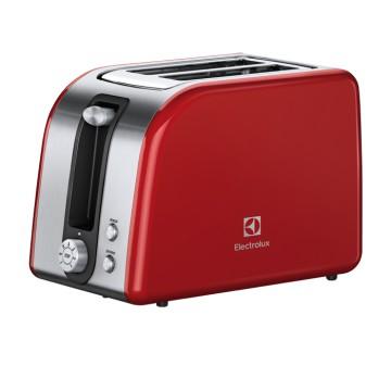 Malé domácí spotřebiče - Electrolux EAT7700R topinkovač řady 7000, červená