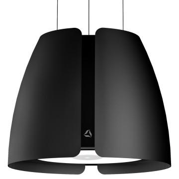 Vestavné spotřebiče - Ciarko Design CDW5001CM odsavač ostrůvkový miss w black mat, 4 roky záruka po registraci