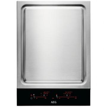 Vestavné spotřebiče - AEG Mastery ITE42600KB varná deska indukční Teppanyaki, 36cm
