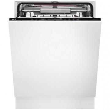 Vestavné spotřebiče - AEG Mastery FSE63807P vestavná myčka nádobí s příborovou zásuvkou, ComfortLift, 60 cm