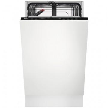 Vestavné spotřebiče - AEG Mastery FSE73407P vestavná myčka nádobí, 45 cm