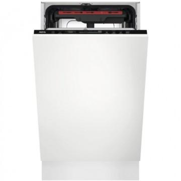 Vestavné spotřebiče - AEG Mastery FSE73507P vestavná myčka nádobí s příborovou zásuvkou, 45 cm, A+++