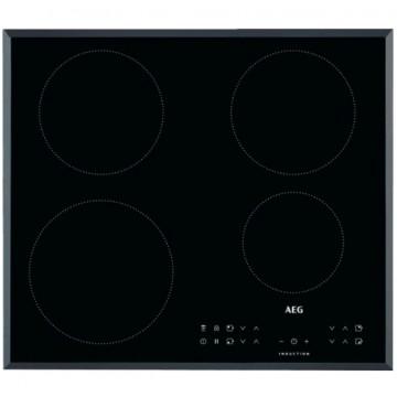 Vestavné spotřebiče - AEG Mastery IKB64301FB indukční varná deska, Hob2Hood, černá, šířka 59 cm