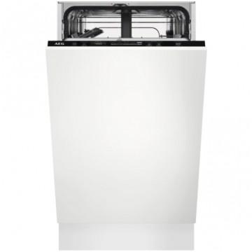 Vestavné spotřebiče - AEG Mastery FSE62417P vestavná myčka nádobí,  45 cm, A++
