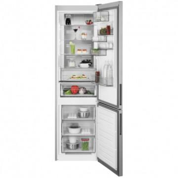 Volně stojící spotřebiče - AEG Mastery RCB736E5MX volně stojící kombinovaná chladnička, NoFrost, CustomFlex, nerez, A++