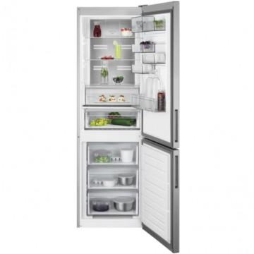 Volně stojící spotřebiče - AEG Mastery RCB732E5MX volně stojící kombinovaná chladnička, NoFrost, CustomFlex, nerez