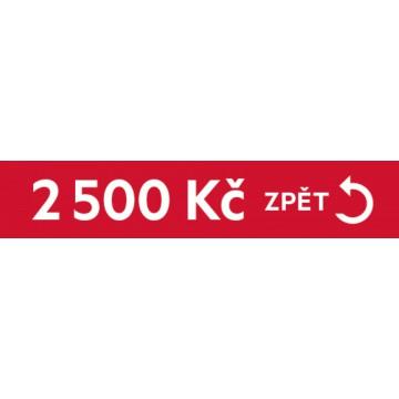 Dárky - Cashback 2500 Kč zpět