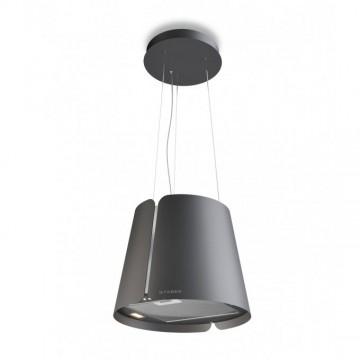 Vestavné spotřebiče - Faber BEAT DG MATT F45  - lustrový odsavač, tmavě šedá mat, šířka 43cm