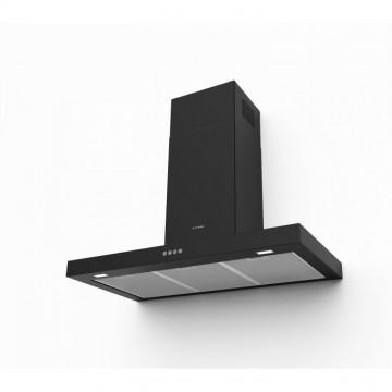 Vestavné spotřebiče - Faber STILO COMFORT BK MATT A90  - komínový odsavač, černá mat, šířka 90cm