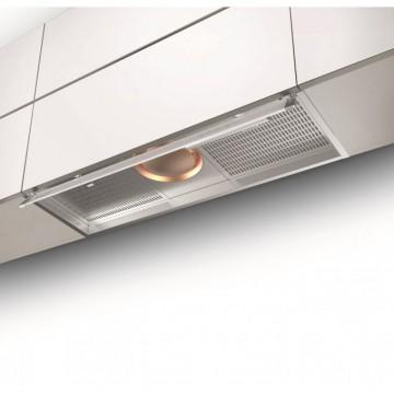 Vestavné spotřebiče - Faber ILMA TOUCH X/WH A120  - vestavný odsavač, nerez / bílé sklo, šířka 120cm