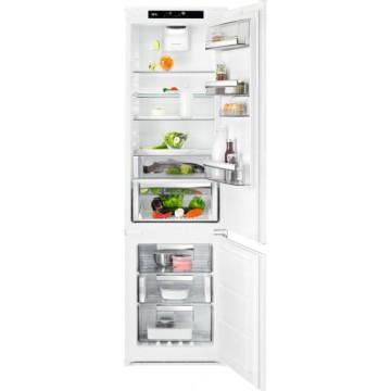 Vestavné spotřebiče - AEG Mastery SCB819E8TS vestavná kombinovaná chladnička, NoFrost