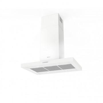 Vestavné spotřebiče - Faber STILO COMFORT ISOLA WH MATT A90  - ostrůvkový odsavač, bílá mat, šířka 90cm