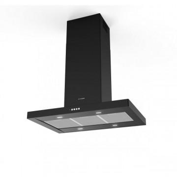 Vestavné spotřebiče - Faber STILO COMFORT ISOLA BK MATT A90  - ostrůvkový odsavač, černá mat, šířka 90cm