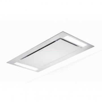 Vestavné spotřebiče - Faber HEAVEN GLASS 2.0 WH FLAT KL A90  - stropní odsavač, bílé sklo, šířka 90cm