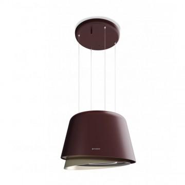 Vestavné spotřebiče - Faber BELLE BURGUNDY/GOLD KL  - lustrový odsavač, burgundská červeň / teplá titanová, šířka 70cm
