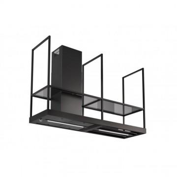 Vestavné spotřebiče - Faber T-SHELF BK MATT A180  - ostrůvkový odsavač, černá mat, šířka 180cm
