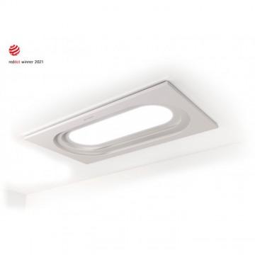 Vestavné spotřebiče - Faber INSIDE UP WH KL A90  - stropní odsavač, bílá mat, šířka 90cm