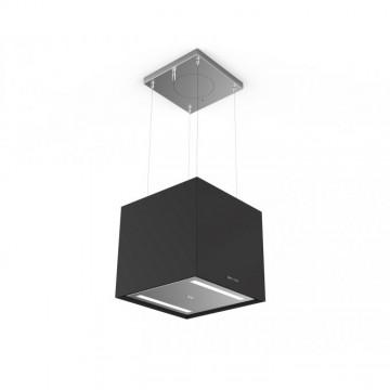 Vestavné spotřebiče - Faber SOFT CUBE NERO INGO F40  - lustrový odsavač, FENIX NTM černá mat, šířka 41cm