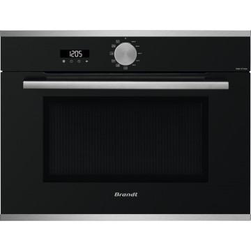 Vestavné spotřebiče - Brandt BKS7131LX mikrovlnná trouba, černá/nerez, 4 roky záruka po registraci