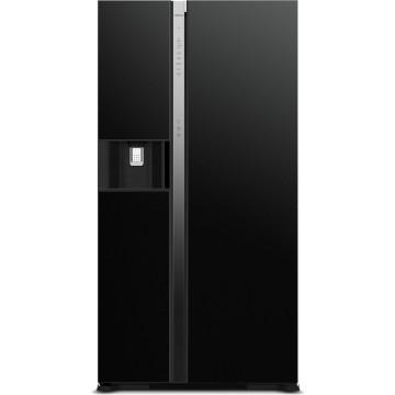 Volně stojící spotřebiče - Hitachi R-SX700GPRU0-GBK chladnička r-sx700gpru0 (gbk), 7 let záruka