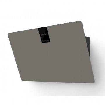 Vestavné spotřebiče - Faber SOFT EDGE GRIGIO LONDRA A80  - komínový odsavač, černá / FENIX NTM šedá mat, šířka 80cm