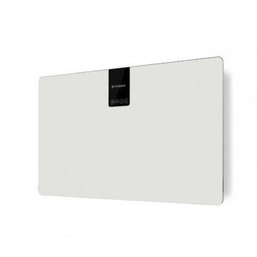 Vestavné spotřebiče - Faber SOFT SLIM BIANCO KOS A80  - komínový odsavač, bílá / FENIX NTM bílá mat, šířka 80cm